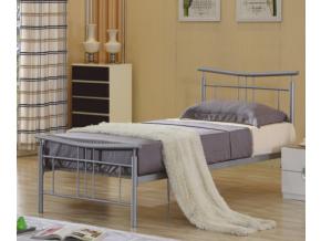 Jednolôžková kovová posteľ DORADO / 90x200