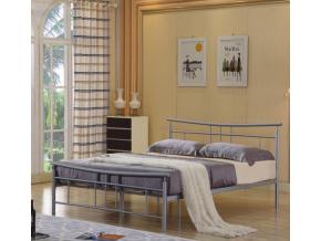 Kovová manželská posteľ DORADO / 160x200