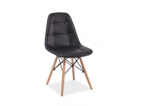 Stolička AXEL / čierna