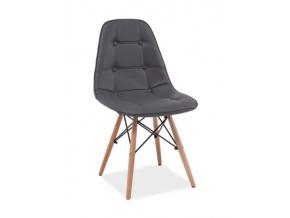 Stolička AXEL / sivá