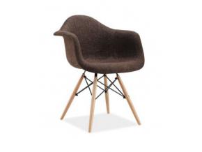 Stolička BONO / hnedá