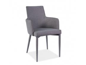 Jedálenská stolička SEMIR / sivá