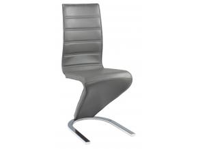 Jedálenská stolička H-669 / sivá