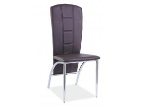 Jedálenská stolička H-120 / hnedá