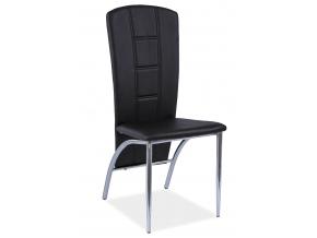 Jedálenská stolička H-120 / čierna