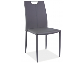 Jedálenská stolička H-322 / sivá