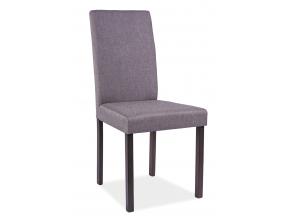 Jedálenská stolička CD-42 wenge/sivá