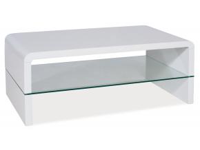 Konferenčný stolík RICA / biely lak
