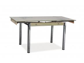 Jedálenský stôl GD-092 / tmavo béžová
