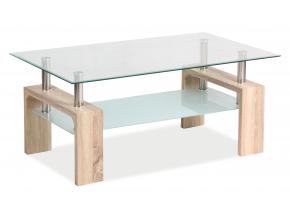 Konferenčný stolík LISA BASIC / dub sonoma