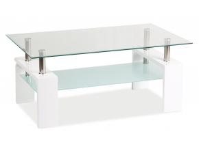 Konferenčný stolík LISA BASIC / biela