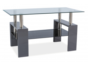 Konferenčný stolík LISA III / sivý lak