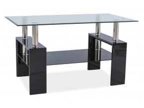 Konferenčný stolík LISA III / čierny lak