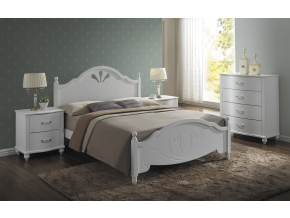 Drevená manželská posteľ MALTA