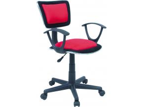 Kancelárske kreslo Q-140 / červená