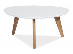 Konferenčný stolík MILAN L3 / biela
