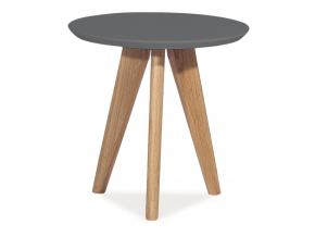 Konferenčný stolík MILAN S1 / sivá