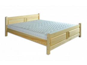 Manželská posteľ - masív LK115 / 140 cm borovica