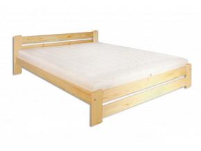 Manželská posteľ - masív LK118 / 160 cm borovica