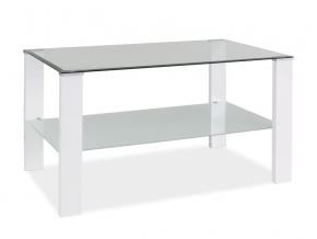 Konferenčný stolík KARINA C / biely lak