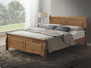 Manželská posteľ BOSTON 160x200 / DUB