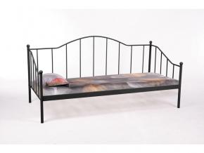 Jednolôžková posteľ DOVER / čierna