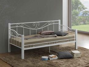 Jednolôžková posteľ KENIA / biela