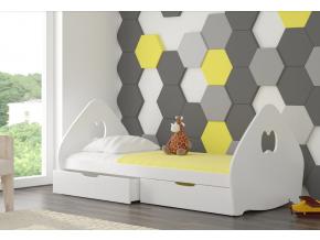 balsa detská posteľ biela