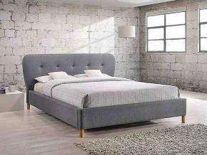 moderna siva manzelska postel BELLA