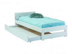 detska jednolozkova biela postel ELF