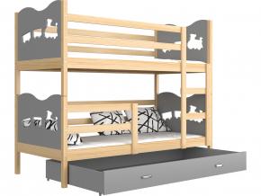 max jelša poschodová posteľ zelená