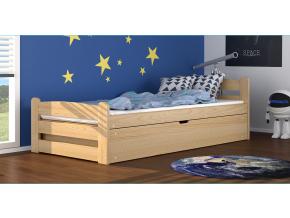 detska jednolozkova postel DAWID borovica
