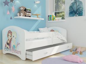 detska postel LUCKY biela 44L biela