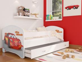 detska postel LUCKY biela 43L detail