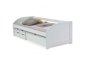 biela jednolozkova postel MIA