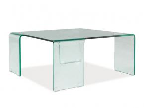 moderny skleneny konferencny stolik RENE