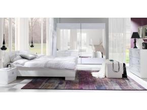 lux stripes spálňa biela