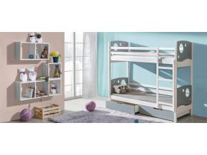 kevin detská poschodová posteľ