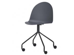 bruna stolička tmavo siva