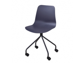 danela stolička tmavosiva