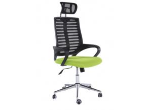 flore kancelárska stolička čierna zelená