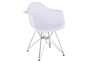 feman jedálenská stolička biela