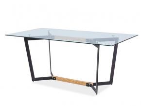moderny skleneny jedalensky stol CELSO