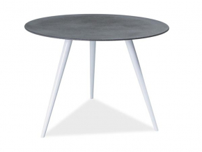 moderny sivy skleneny jedalensky stol EVITA