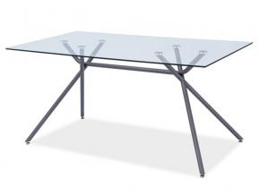 moderny skleneny jedalensky stol NEVIO