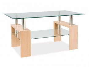 moderny konferencny stolik LISA II dub