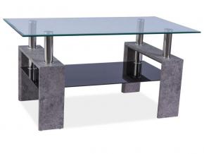 moderny konferencny stolik LISA II sivy kamen
