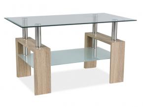 moderny konferencny stolik LISA III dub sonoma