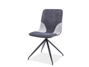 moderna siva jedalenska stolicka ENRICO