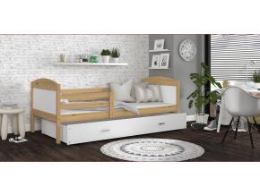 detska jednolozkova postel MATEUSZ P borovica biela